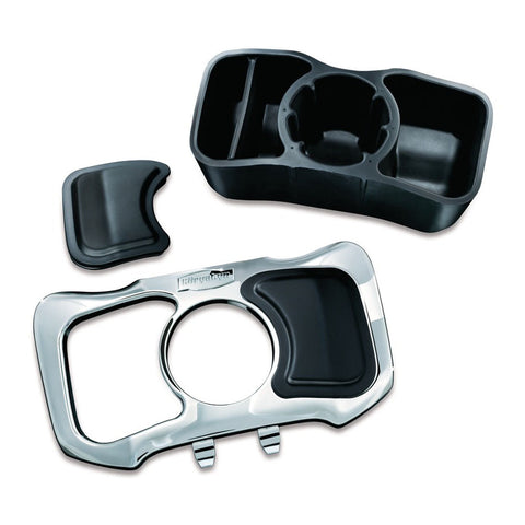 Kuryakyn 1669 Chrome Glove Box Cubby for Honda GL1800