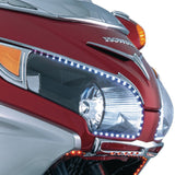 Kuryakyn 7364 Headlight Outer Trim w/ Turn Signal Accents for Honda GL1800/F6B