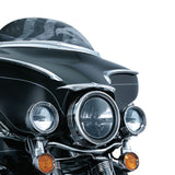 Kuryakyn 7749 LED Halo Trim Ring for Harley Davidson FXS/FXST/FXLR/XL883/XL1200R