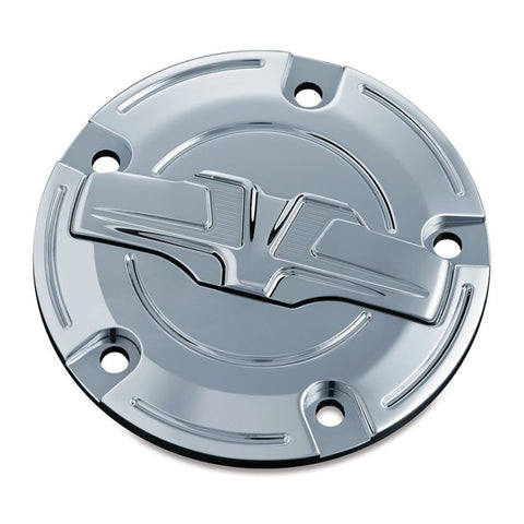 Kuryakyn Bahn 6931 Chrome Timing Cover for Twin Cam Engines