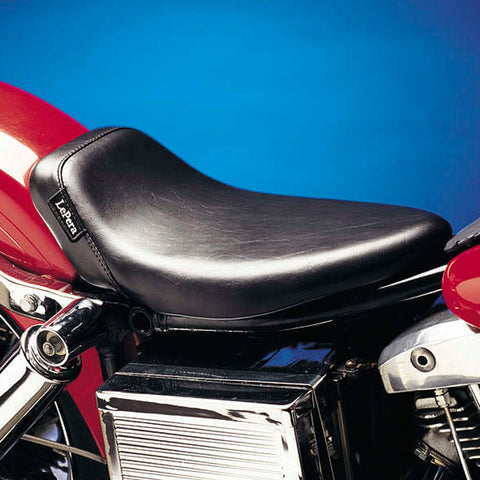 Le Pera L-003 Smooth Bare Bones Solo Seat for Harley Davidson FXDWG Dyna Wide Glide