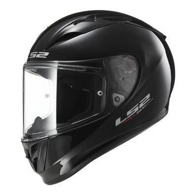 LS2 Arrow Solid Full Face Helmet (Gloss Black)