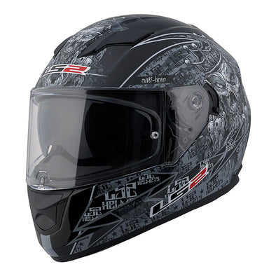 LS2 Stream Anti-Hero Full Face Helmet w/ Sunshield
