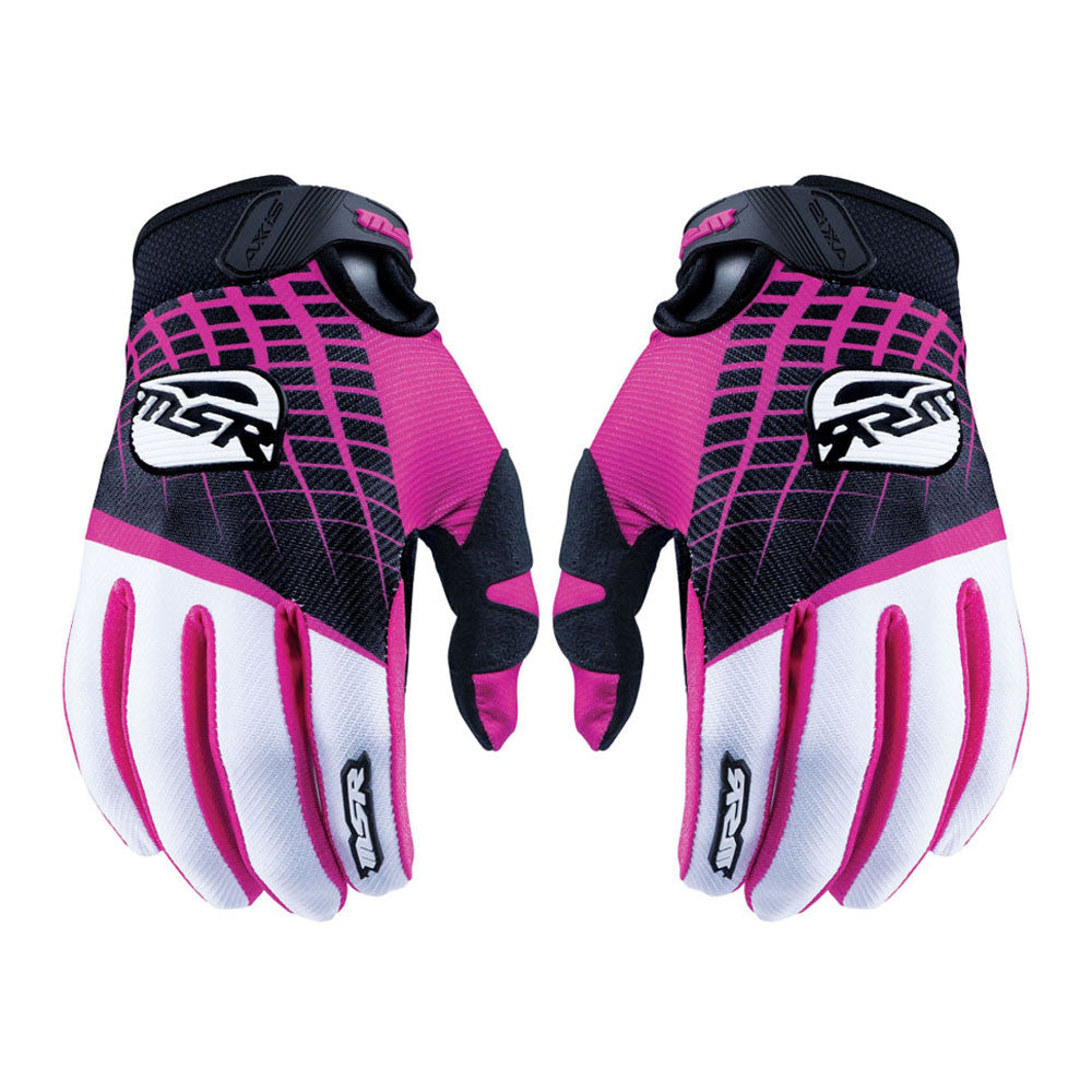 MSR 352734 M16 Axxis Gloves - Black/Pink (MD)