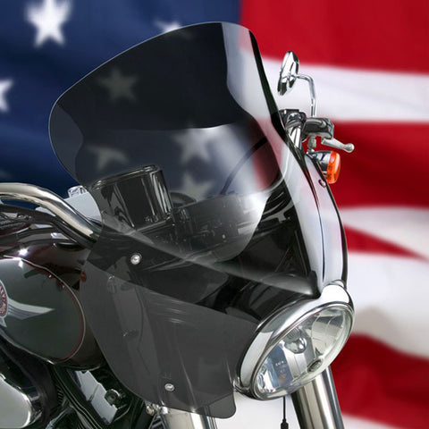 National Cycle N21603 Wave QR Fairing Windshield for Harley Davidson Softail