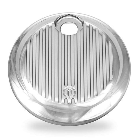 Performance Machine 0200-2005GRL-CH Chrome Grill Fuel Door for Harley Davidson FL