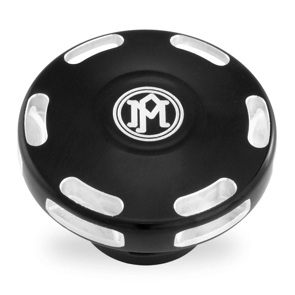 Performance Machine 0210-2024APX-BM Contrast Cut Apex Fuel Cap