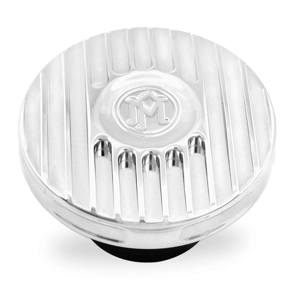 Performance Machine 0210-2024GRL-CH Chrome Grill Fuel Cap