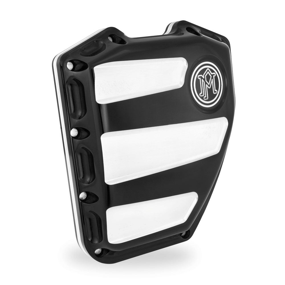 Performance Machine 0177-2020-BM Contrast Cut Scallop Cam Cover