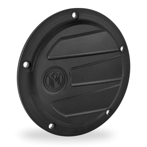 Performance Machine 0177-2026-SMB Black Ops Scallop 5-H Derby Cover