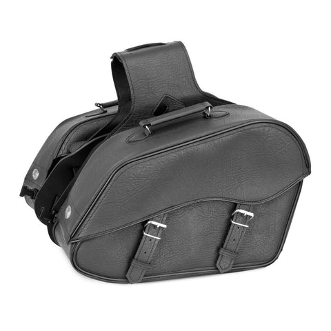 River Road 107721 Quantum Series Windswept Large Classic Saddlebags
