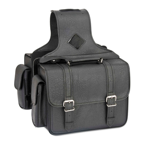 River Road 107734 Quantum Series Compact Box Classic Saddlebags