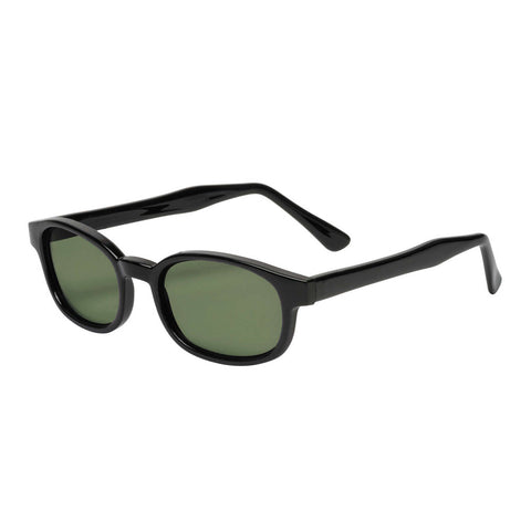 River Road FC-13006DGRN Raider Sunglasses (Dark Green Lens)
