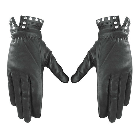 River Road 2002 G 2057 Tallahassee Leather Gloves - Black