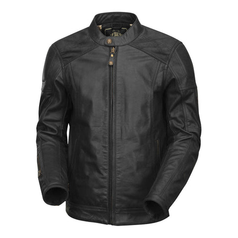 Roland Sands Carson Leather Jacket (Black)