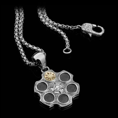 Clocks & Colours Russian Roulette Pendant