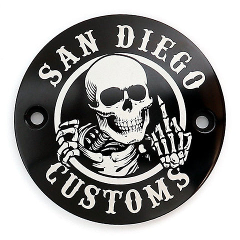 San Diego Customs P-PCE001 Ripper Timing Cover for Evo