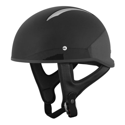 Speed & Strength 879546 SS310 Half Helmet - Gloss-Black