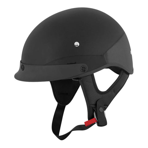 Speed & Strength 879534 SS410 Half Helmet - Gloss-Black