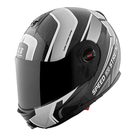 Speed & Strength Lock & Load SS1700 Modular Helmet - Gloss-Black