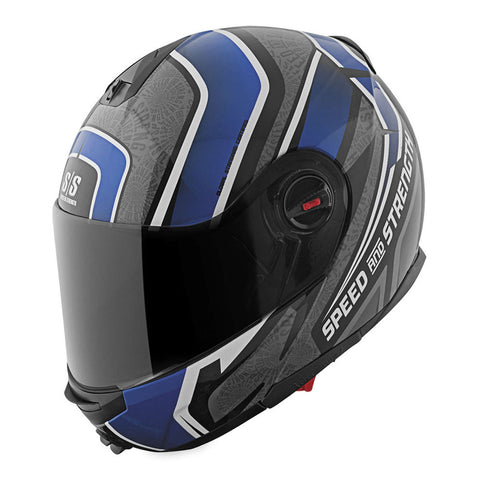 Speed & Strength 878756 Lock & Load SS1700 Modular Helmet - Gloss-Blue