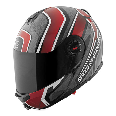 Speed & Strength Lock & Load SS1700 Modular Helmet - Gloss-Red