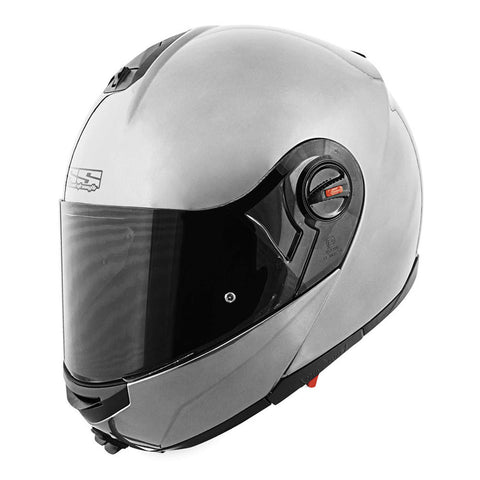 Speed & Strength 87-8174 Solid Speed SS1700 Modular Helmet - Gloss-Silver