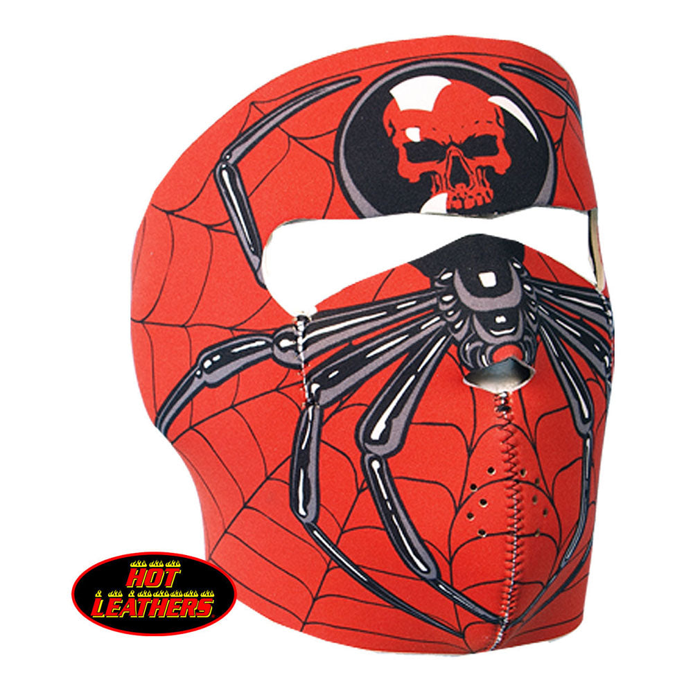 Hot Leathers Spider Full Face Mask