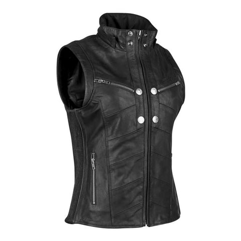 Speed & Strength Women's Hell's Belles Leather Vest