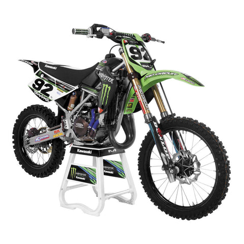 UFO Plastics KAKIT207KE-999 OEM Restyled Body Kit for Kawasaki KX85/KX100
