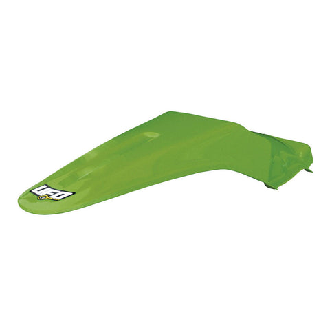 UFO Plastics KA03715K-026 Green Restyled Rear Fender for Kawasaki KX85/KX100