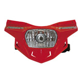 UFO Plastics PF01715-070 Red Stealth Headlight Kit