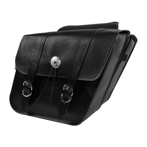 Willie & Max 58700-00 Deluxe Compact Slant Saddlebags