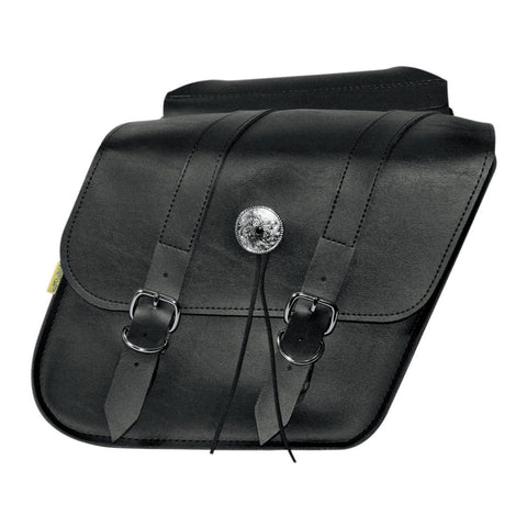 Willie & Max 58707-00 Deluxe Compact Slant Saddlebags