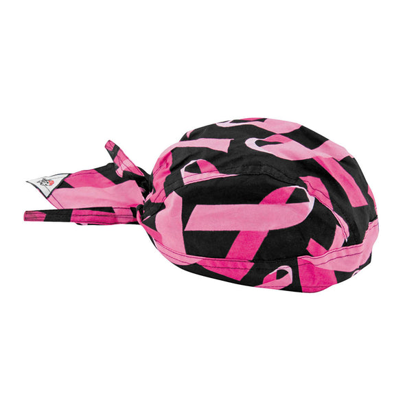 Zan Headgear Breast Cancer Flydanna Headwrap - Pink