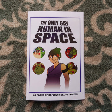 The Only Gay Human In Space Mini-Book