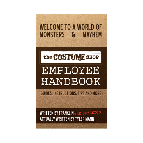 The Costume Shop Employee Handbook