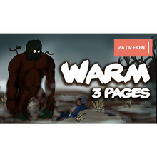 Load image into Gallery viewer, 'Warm' 3 Page Bonus Comic