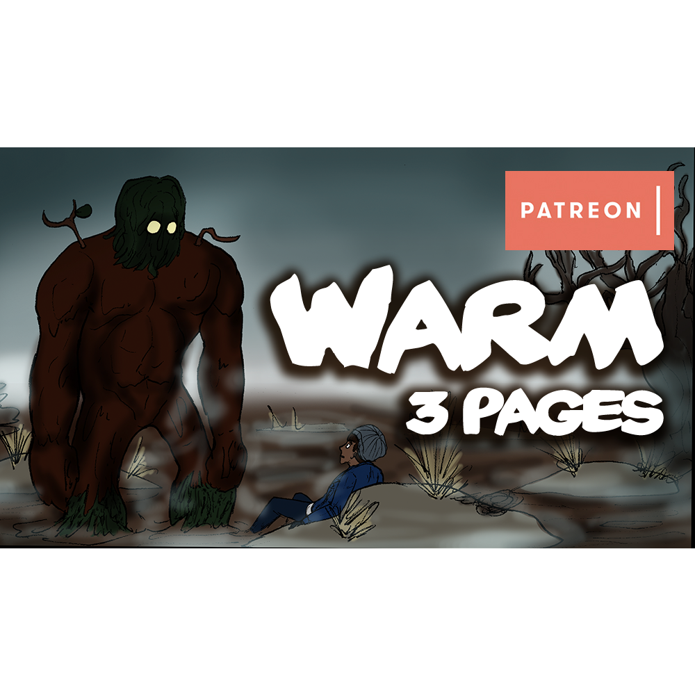 'Warm' 3 Page Bonus Comic