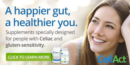 Learn more about supplements for people with Celiac and gluten-sensitivity.