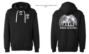 Hoody: Darkness, My Old Friend.. Unisex Sizes