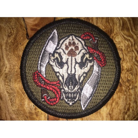 Wolf Skull Tao Patch