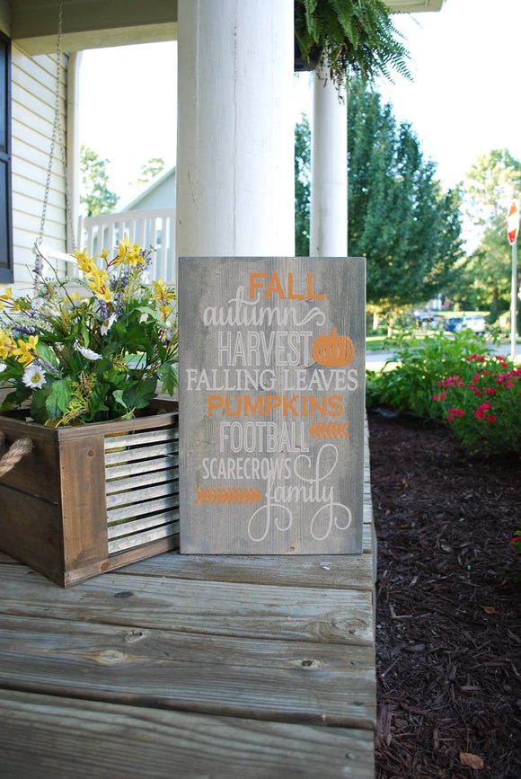 FREE SHIPPING!!!   Fall wood sign  I Autumn home decor  I  Fall Autumn Harvest  I  Fall signs