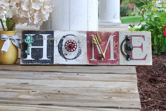 FREE U.S SHIPPING!!!  Home pallet sign  I  Rustic home decor  I  home