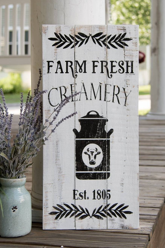 Farm Fresh Creamery pallet sign  I   Farm Fresh  I  Creamery sign  I  Creamery