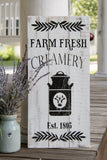 FREE SHIPPING!!!   Farm Fresh Creamery pallet sign  I   Farm Fresh  I  Creamery sign  I  Creamery
