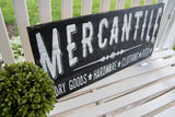 Mercantile pallet sign  I  Mercantile  I  farm sign  I  farmhouse sign