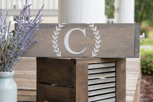 FREE U.S. SHIPPING!!!   Wood box centerpiece  I   Wedding centerpiece