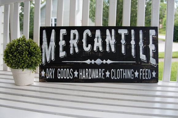 FREE SHIPPING!!!  Mercantile pallet sign  I  Mercantile  I  farm sign  I  farmhouse sign  I  Kitchen sign