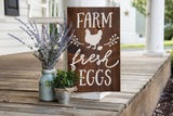 FREE SHIPPING!!!  Farm Fresh Eggs wood sign  I  Farm fresh eggs  I  Farm fresh  I  eggs  I  Kitchen sign